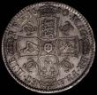 London Coins : A167 : Lot 740 : Halfcrown 1670 No Stop after HIB ESC 467, Bull 453 NVF/VF with traces of underlying blue tone