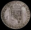 London Coins : A167 : Lot 745 : Halfcrown 1689 First Shield, No Frosting, with Pearls, ESC 507, Bull 835, EF with a bold and even st...