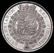 London Coins : A167 : Lot 770 : Halfcrown 1816 as ESC 613 with U over lower U in QUI UNC with some lustre, the reverse with very lig...