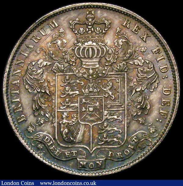 Halfcrown 1826 ESC 646 Unc with a lovely tone and graded CGS AU 78 : English Coins : Auction 167 : Lot 776