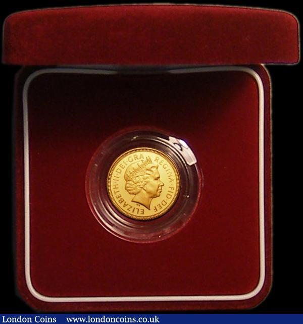 Half Sovereign 2002 Proof FDC in the red box of issue with certificate : English Cased : Auction 167 : Lot 78