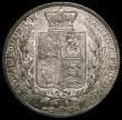London Coins : A167 : Lot 798 : Halfcrown 1879 Davies 585 - dies 3+C. A scarce date having a rare variety with the whole date double...