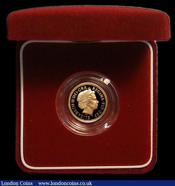 Half Sovereign 2005 Proof S.SB6 FDC in the Royal Mint box of issue with certificate : English Cased : Auction 167 : Lot 80