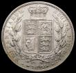 London Coins : A167 : Lot 801 : Halfcrown 1884 ESC 713, Bull 2765 EF or very near so with an edge nick and a very small spot on the ...