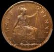 London Coins : A167 : Lot 834 : Halfpenny 1936 VIP Proof/Proof of record Freeman 427 dies 3+B, rated R18 by Freeman, in a PCGS holde...