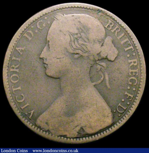 Penny 1874H Freeman 69 dies 6+I VG/NVG Very rare the variety very clear, rated R16 by Freeman : English Coins : Auction 167 : Lot 876