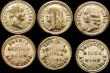 London Coins : A168 : Lot 1000 : A small box the lid showing a view of Windsor castle 23mm diameter containing Royal Family medalets ...