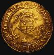 London Coins : A168 : Lot 1087 : Half Sovereign Edward VI, in the name of Henry VIII S.2391, North 1865, mintmark Arrow, some wear an...