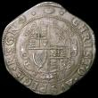 London Coins : A168 : Lot 1093 : Halfcrown Charles I Group III, type 3a1, Third horseman, No caparisons on horse, scarf flies from Ki...