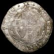 London Coins : A168 : Lot 1099 : Halfcrown Charles I Group IV, type 4, foreshortened horse, S.2779 mintmark Star over Rose/Star, the ...
