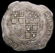 London Coins : A168 : Lot 1103 : Halfcrown Charles I Tower Mint under Parliament, no ground, cruder workmanship, Group III, Type 3a3,...