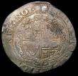 London Coins : A168 : Lot 1105 : Halfcrown Charles I Tower Mint under Parliament, no ground, cruder workmanship, Group III, Type 3a3,...