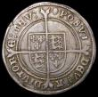 London Coins : A168 : Lot 1117 : Shilling Edward VI Fine Silver Issue S.2482 Good Fine and bold with excellent portrait, and some old...