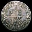 London Coins : A168 : Lot 1122 : Sixpence Edward VI Fine Silver issue S.2483 Mintmark y About VF and creased, very little real wear a...