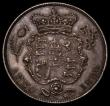 London Coins : A168 : Lot 1353 : Halfcrown 1820 George IV ESC 628 Bull 2310 UNC or near so attractively toned with a few light contac...