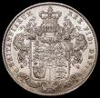 London Coins : A168 : Lot 1357 : Halfcrown 1828 ESC 648 Bull 2377 lustrous GEF and exceptionally rare in this high grade, one of the ...