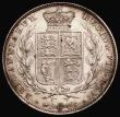 London Coins : A168 : Lot 1364 : Halfcrown 1844 the 4s in the date have upper serifs ESC 677, Bull 2720 GVF or slightly better with s...