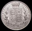 London Coins : A168 : Lot 1378 : Halfcrown 1886 ESC 715, Bull 2767 UNC/AU and lustrous, in an LCGS holder and graded LCGS 75, Ex-Lond...