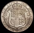 London Coins : A168 : Lot 1390 : Halfcrown 1905 ESC 750, Bull 3571 UNC or very near so, the obverse with a small tone spot on the bac...