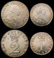 London Coins : A168 : Lot 1422 : Maundy Set 1795 ESC 2420 GEF-Unc with a lovely matching tone