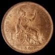 London Coins : A168 : Lot 1446 : Penny 1862 Freeman 39 dies 6+G Choice UNC with good lustre, in an LCGS holder and graded LCGS 82, Ex...