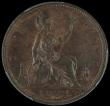 London Coins : A168 : Lot 1452 : Penny 1872 Freeman 62 dies 6+G in a PCGS holder and graded MS63 BN