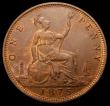 London Coins : A168 : Lot 1455 : Penny 1875 Freeman 82 dies 8+J, UNC and nicely toned with traces of lustre, in an LCGS holder and gr...