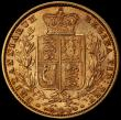 London Coins : A168 : Lot 1538 : Sovereign 1855 WW Raised on truncation S.3852C in a PCGS holder and graded AU55