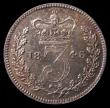 London Coins : A168 : Lot 1641 : Threepence 1846 ESC 2056 Bull S.3373  LCGS 80 rare thus