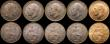 London Coins : A168 : Lot 1690 : Farthings (10) 1904, 1906, 1907, 1909, 1910, 1911, 1912 (2), 1913, EF to UNC with dark finish, 1918 ...