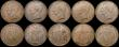 London Coins : A168 : Lot 1814 : Australia Penny Tokens Professor Holloway - Holloways Pills and Ointments issues (10) 1857 KM#Tn278....