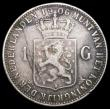 London Coins : A168 : Lot 2071 : Netherlands Gulden 1906 KM#122.2 Fine, the key date in the series