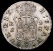 London Coins : A168 : Lot 2090 : Spain 2 Reales 1788C KM#412.2 NEF/EF the obverse with streaky tone