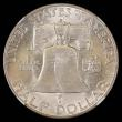 London Coins : A168 : Lot 2105 : USA Half Dollar 1949D as Breen 5225 with the D mintmarked doubled, the underlying D to the left, Bre...