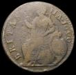 London Coins : A168 : Lot 2194 : Halfpenny 1699 Date in Legend with GVLIELMV . error, unlisted by Peck, similar to the example in the...