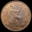 London Coins : A168 : Lot 2259 : Penny 1875 Freeman 82 dies 8+J UNC or near so with traces of lustre, Ex-London Coins Auction A144 1/...