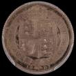 London Coins : A168 : Lot 2324 : Sixpence 1887 Jubilee head Withdrawn type Proof, J.E.B below truncation ESC 1753A, Bull 3269 in a PC...