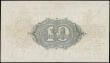 London Coins : A168 : Lot 25 : Ten Shillings Fisher T26 First issue Red dash in No. photogravure printing and Ireland in title issu...
