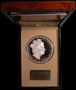 London Coins : A168 : Lot 387 : Five Hundred Pounds 2015 Queen Elizabeth II - The Longest Reigning Monarch, James Butler portrait. S...