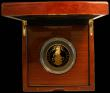 London Coins : A168 : Lot 399 : Five Hundred Pounds 2019 Queen's Beasts - The Yale of Beaufort 5oz. Gold Proof FDC, in the Roya...