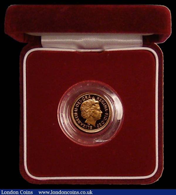 Half Sovereign 2002 Proof FDC in the red box of issue with certificate : English Cased : Auction 168 : Lot 451