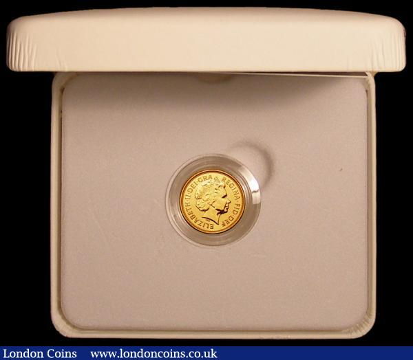 Sovereign 2013 The Royal Birth Celebration Sovereign, Prince George - Struck on the Day 22nd July 2013 S.SC7 Lustrous UNC in the white box of issue with certificate, 2013 pieces issued in this format : English Cased : Auction 168 : Lot 530
