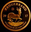 London Coins : A168 : Lot 705 : South Africa Gold 50 Ounce Krugerrand 2017 50th Anniversary of the first Krugerrand, with the '...