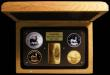 London Coins : A168 : Lot 707 : South Africa Krugerrands 1967-2017 a 4-coin set comprising Krugerrand 2017 10 Rand Platinum One Ounc...