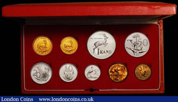 1973 Italy Vatican complete set coins UNC with silver in official RED BOX