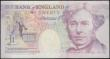 London Coins : A168 : Lot 80 : Twenty Pounds Kentfield QE2 and Michael Faraday ERROR B371 issue 1991 serial number E...