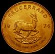 London Coins : A168 : Lot 851 : South Africa Krugerrand 1974 Unc