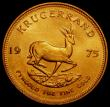 London Coins : A168 : Lot 853 : South Africa Krugerrand 1975 Unc