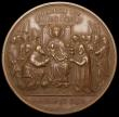London Coins : A168 : Lot 946 : Germany - 1880 Cologne Cathedral - Shrine of the Three Kings 51mm diameter in bronze by Gottfried Dr...