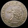 London Coins : A168 : Lot 952 : Marriage of Charles I and Henrietta Maria 1625 23mm diameter cast in Silver by P.Regniet, Eimer 105b...